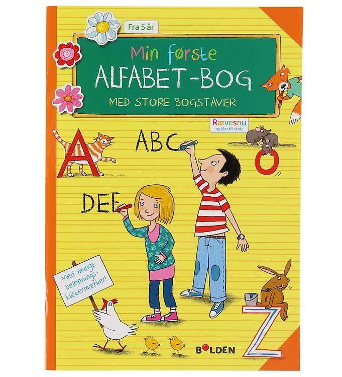 Image of Forlaget Bolden Aktivitetsbog - Min Første Alfabet-Bog (XB608)