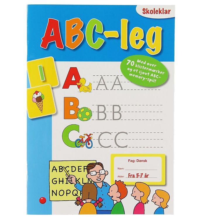 Image of Forlaget Bolden Aktivitetsbog - ABC-Leg (XB610)