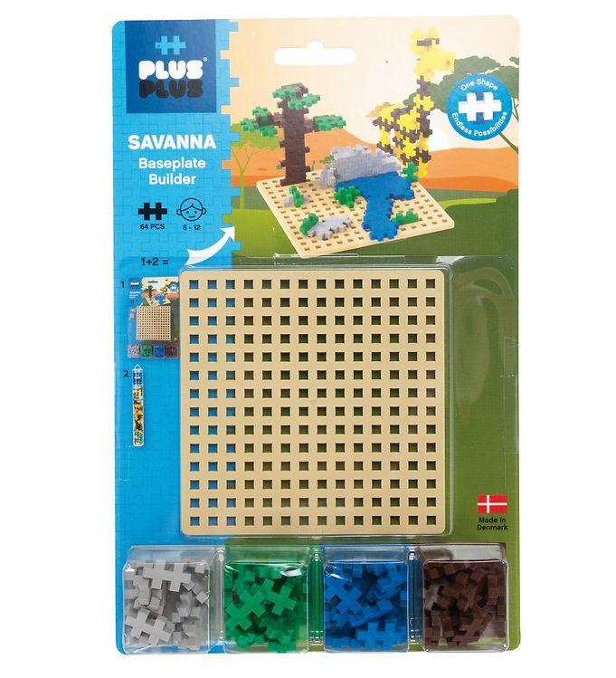 Image of Plus-Plus Savanna Builder - 64stk (XB618)