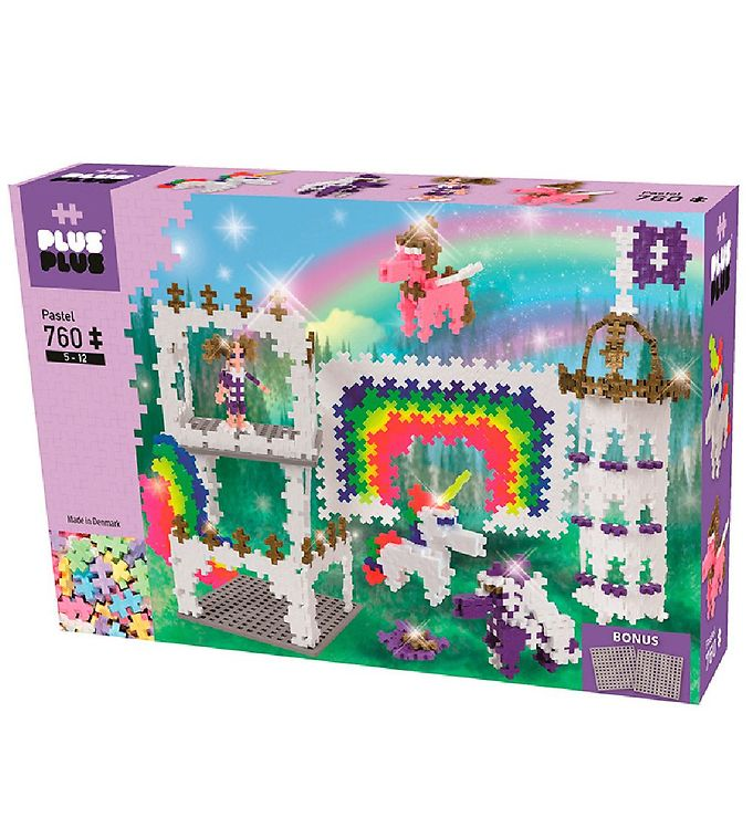 Image of Plus-Plus Mini - Regnbue Slot - 760stk (XB627)