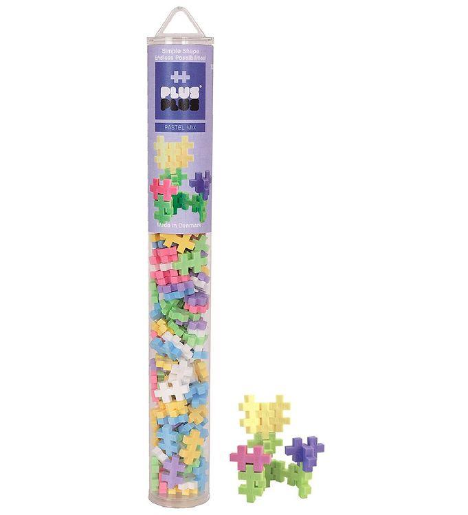 Image of Plus-Plus - Pastel Mix - 100stk (XB640)