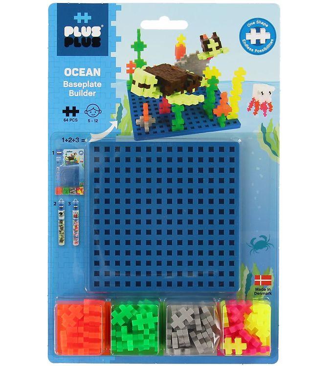 Image of Plus-Plus Ocean Builder - 64stk (XB644)