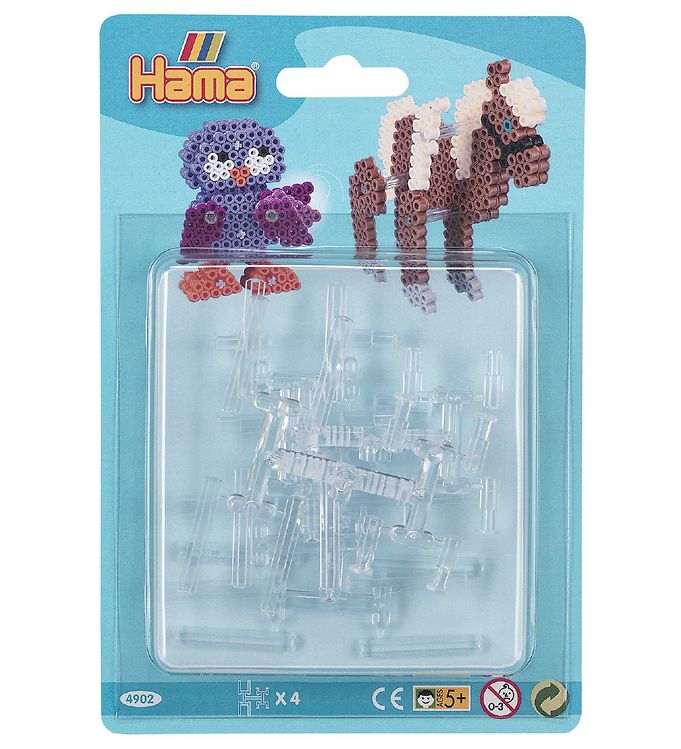 Image of Hama Connectors - 4 stk - Transparent (XB686)