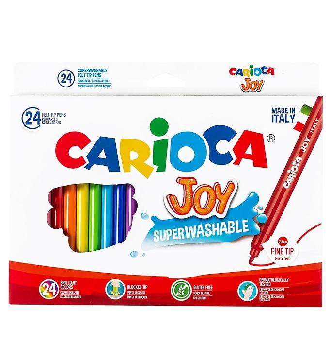 Image of Carioca Joy Tuscher - 24 stk - Multifarvet (XB710)