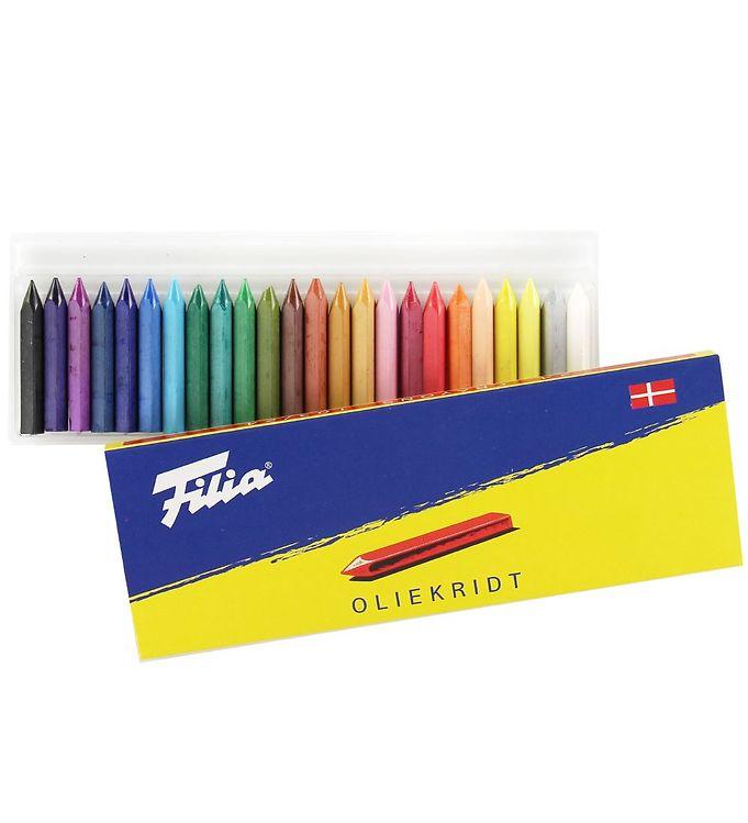 Image of Filia Oliekridt - 24 stk - 103/24 - Multifarvet (XB719)