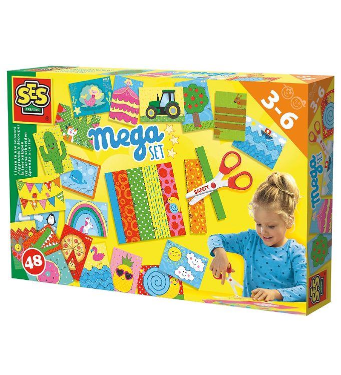 Image of SES Creative Klippesæt - Mega Pakke (XB740)
