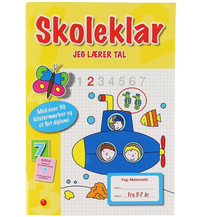 Image of Forlaget Bolden Aktivitetsbog - Jeg Lærer Tal (XB803)