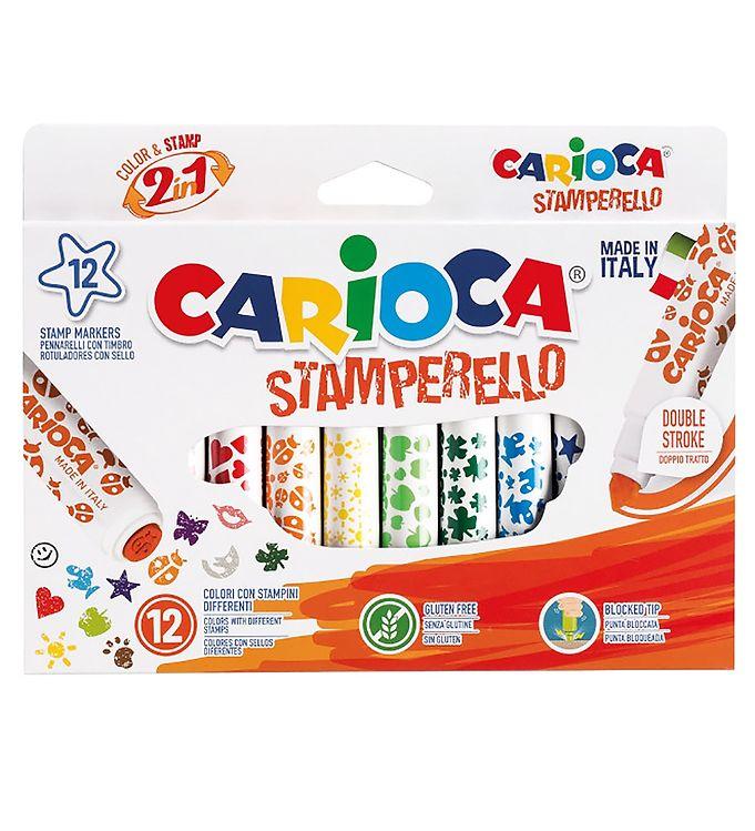 Image of Carioca Stempel Tuscher - 12 stk - Multifarvet (XB863)