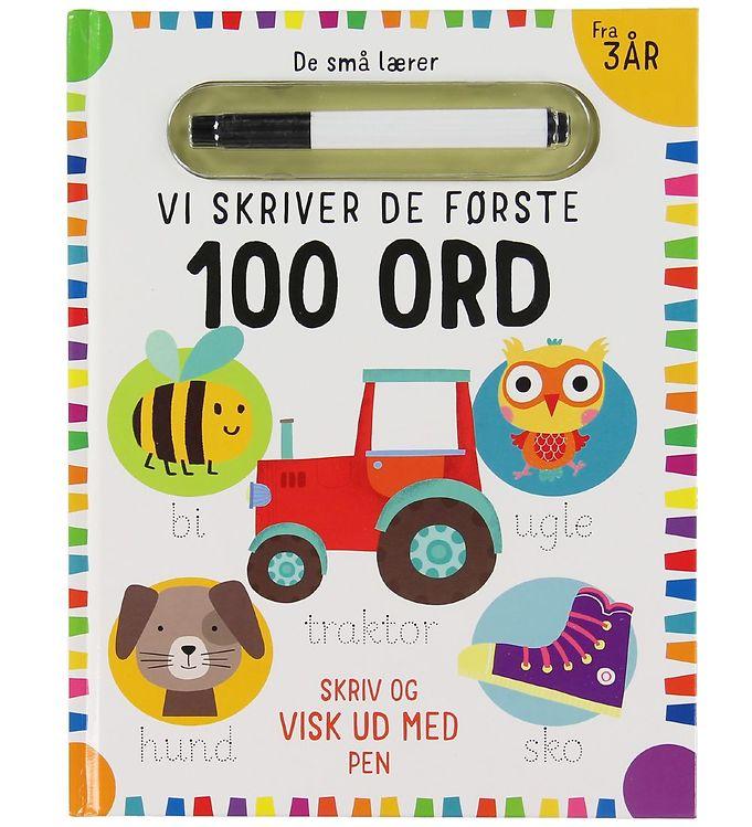 Image of Alvilda Bog - De Små Lærer - Skriv og Visk ud - De Første 100 Or (XB937)