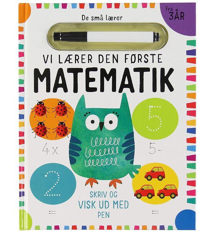 Image of Alvilda Bog - De Små Lærer - Skriv og Visk ud - Den Første Mat (XB938)