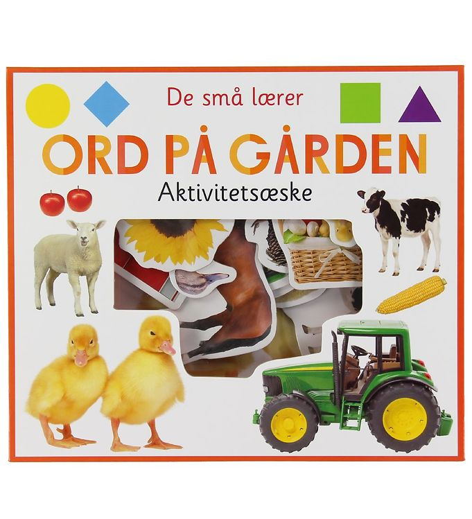 Image of Alvilda Aktivitetsæske - De Små Lærer - Ord På Gården (XB940)