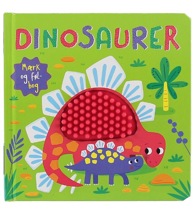 Image of Karrusel Forlag Bog - Mærk Og Føl - Dinosaurer (XC009)