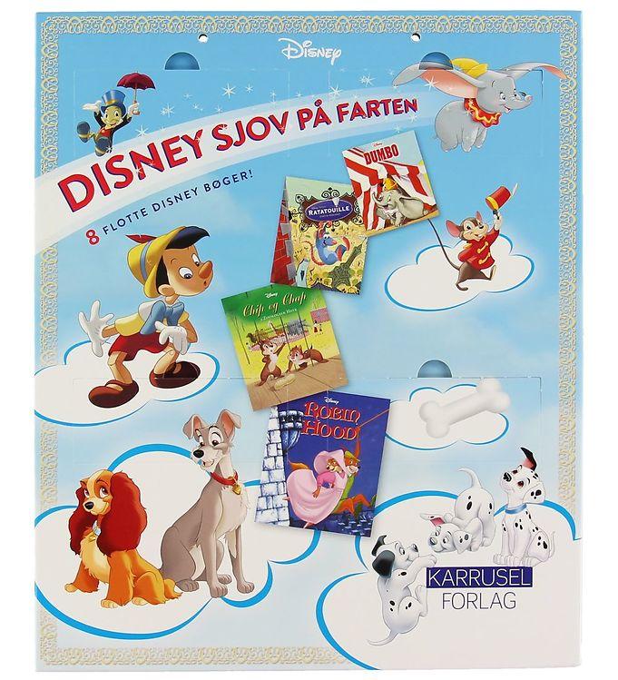 Image of Karrusel Forlag Bog - Disney Sjov På Farten (XC013)