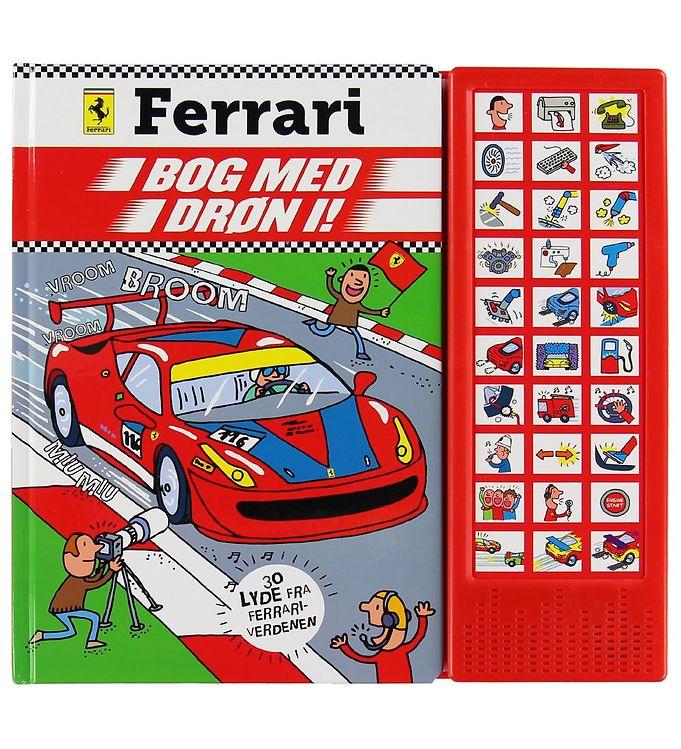 Image of Karrusel Forlag Lydbog - Ferrari m. 30 Lydknapper (XC016)