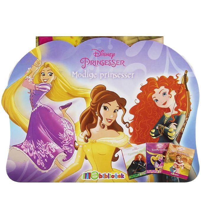 Image of Karrusel Forlag Bøger - Mit Mini Bibliotek - Disney Prinsesser (XC023)