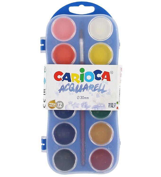 Image of Carioca Akvarelmaling - 12 Farver (XC131)