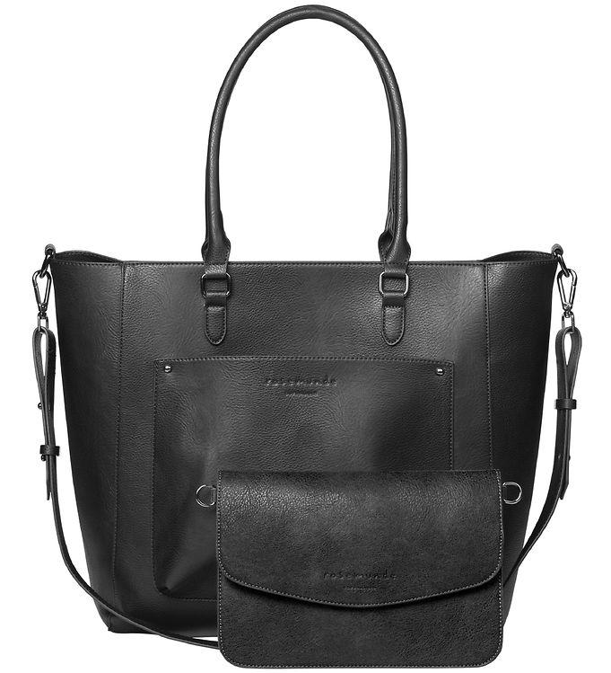 Image of Rosemunde Shopper m. Clutch - Black/Black Oxid (XC160)