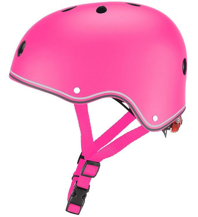 Image of Globber Cykelhjelm - Primo Lights - Deep Pink (XC172)