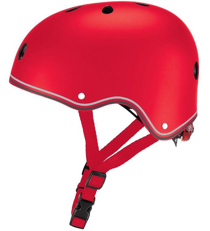 Image of Globber Cykelhjelm - Primo Lights - Red (XC175)