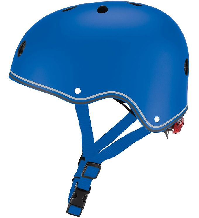 Image of Globber Cykelhjelm - Primo Lights - Blue (XC176)
