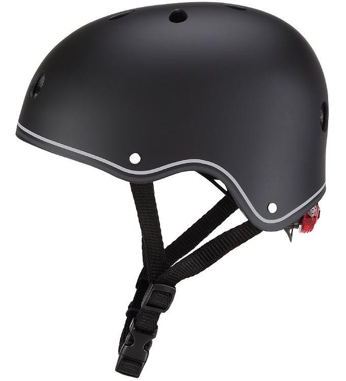 Image of Globber Cykelhjelm - Primo Lights - Black (XC177)