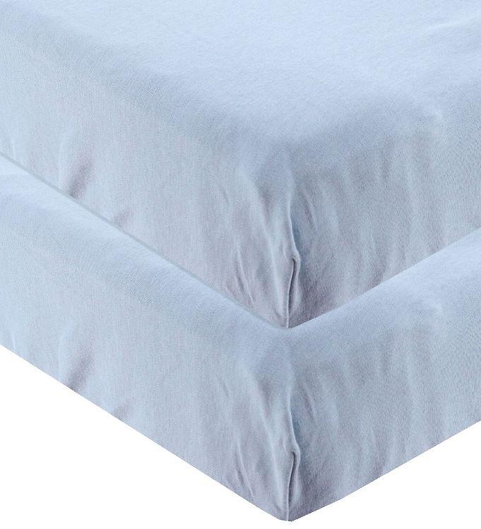 Leander Lagen - 60x115 - 2-pak - Dusty Blue - Leander Lagen,Leander Sengetøj,Leander-serien,Linea-serien - Leander