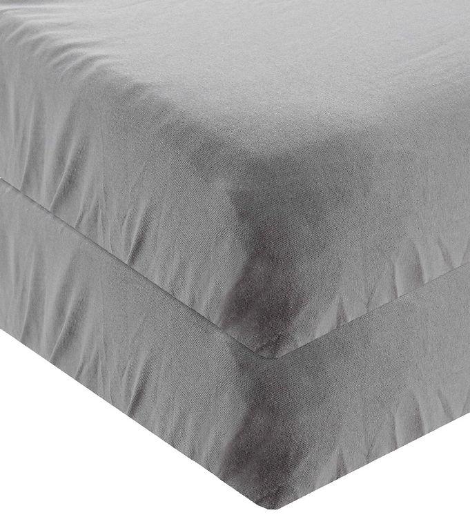 Leander Lagen - 60x115 - 2-pak - Cool Grey - Leander Lagen,Leander Sengetøj,Leander-serien,Linea-serien - Leander