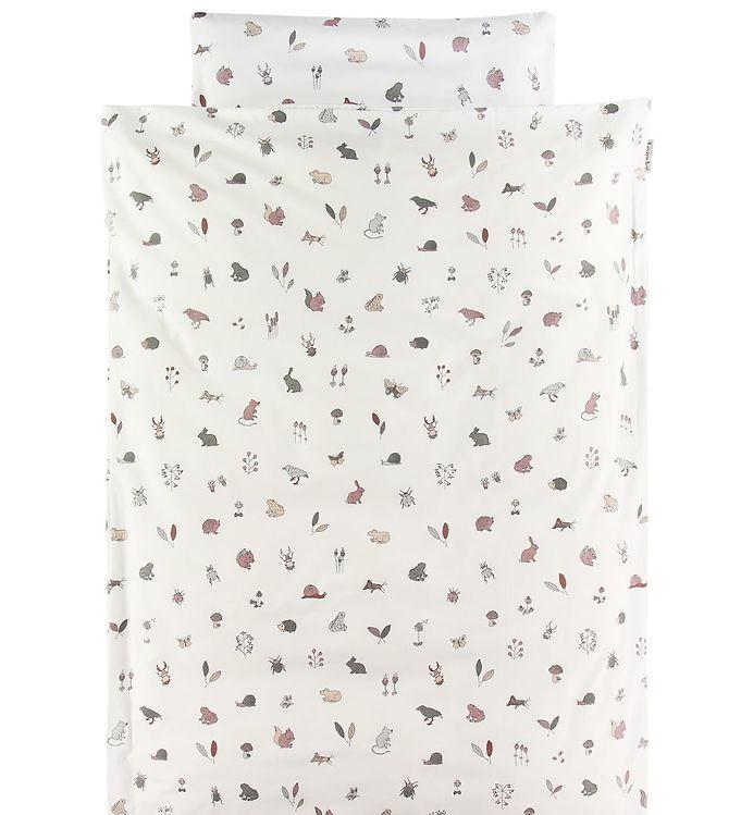 Leander Sengetøj - Junior - Forest - Dusty Rose - Leander Sengetøj - Leander