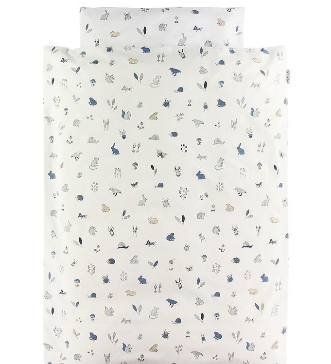 Leander Sengetøj - Junior - Forest - Dusty Blue - Leander Sengetøj - Leander
