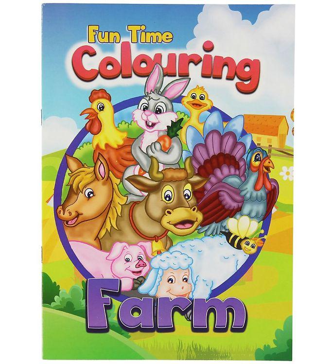 Image of Malebog - Fun Time Colouring Farm - 16 Sider (XC483)