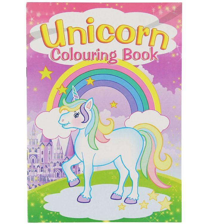 Image of Malebog - Unicorn Colouring Book - 16 Sider (XC484)