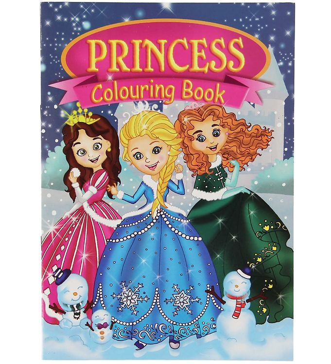 Image of Malebog - Princess Colouring Book - 16 Sider (XC485)