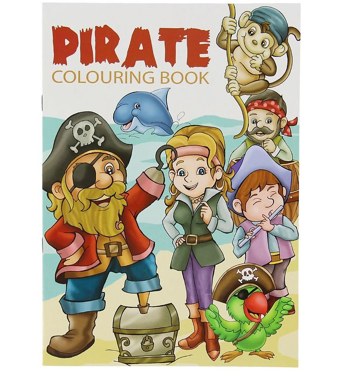 Image of Malebog - Pirate Colouring Book - 16 Sider (XC487)