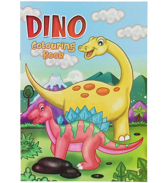 Image of Malebog - Dino Colouring Book - 16 Sider (XC496)
