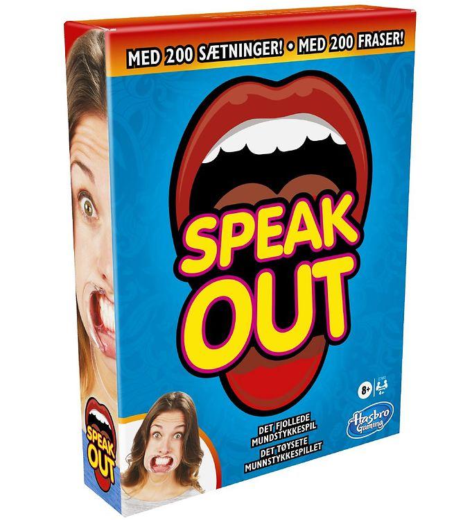 Hasbro Brætspil - Speak Out