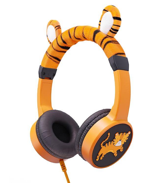Image of Planet Buddies Høretelefoner - Tiger - Orange (XD016)