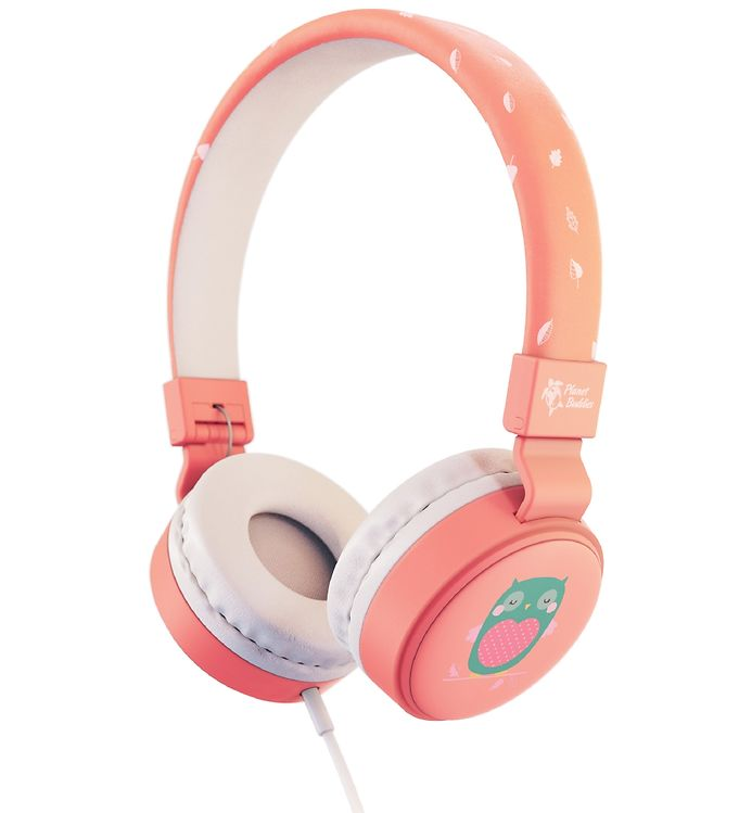 Image of Planet Buddies Høretelefoner - Ugle - Pink (XD017)