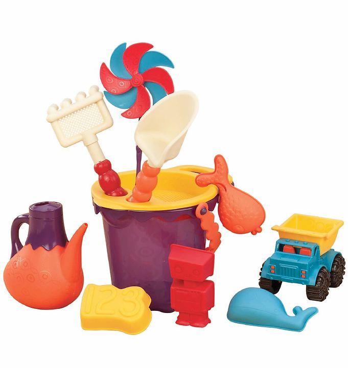 Image of B. Toys Spandsæt - Ready Beach Bag - Lilla (XD033)