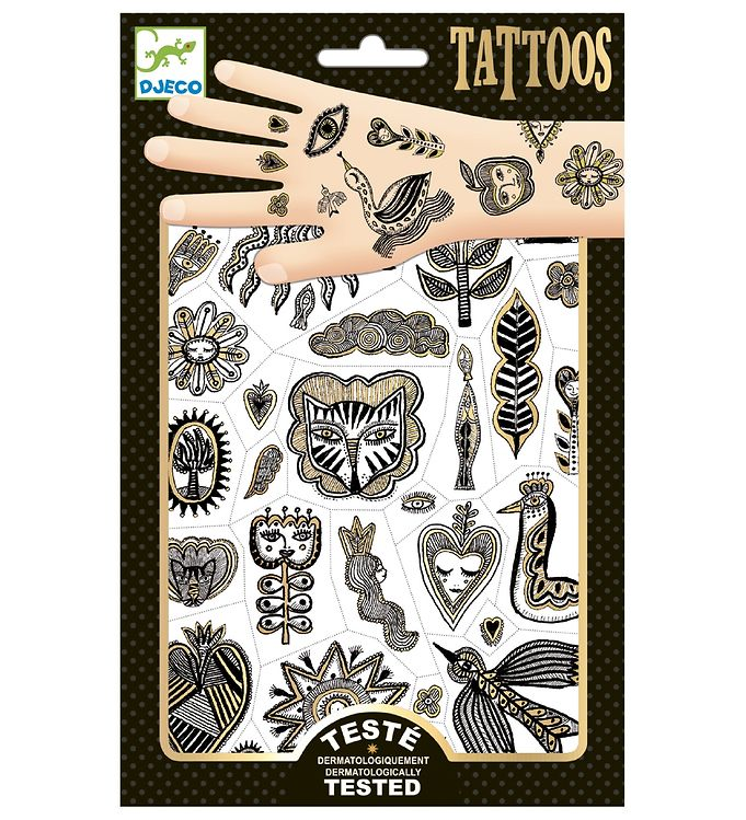 Image of Djeco Tatovering - Golden Chic (XD398)
