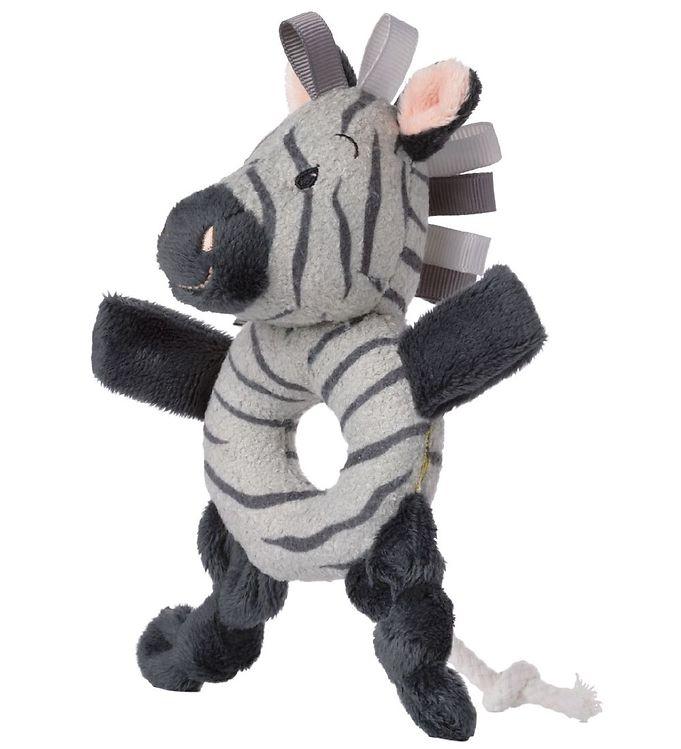 Image of Bon Ton Toys Rangle - WWF Cub Club - 15 cm - Zebraen Ziko - Grå (XD556)
