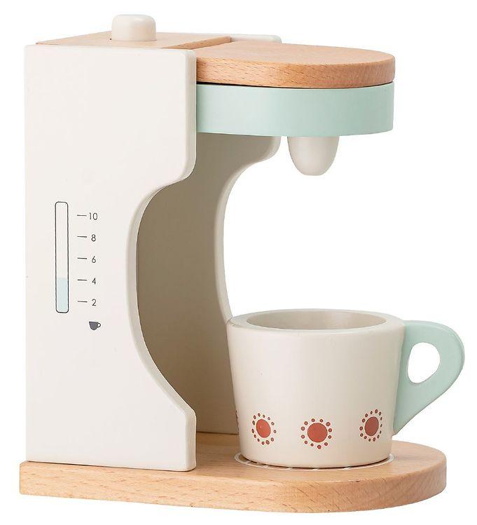 Image of Bloomingville Kaffemaskine - Multifarvet/Bøg (XD620)