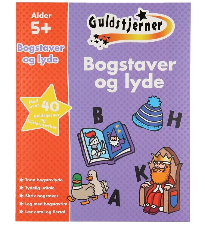 Image of Karrusel Forlag Bog - Guldstjerner - Bogstaver Og Lyde (XD664)