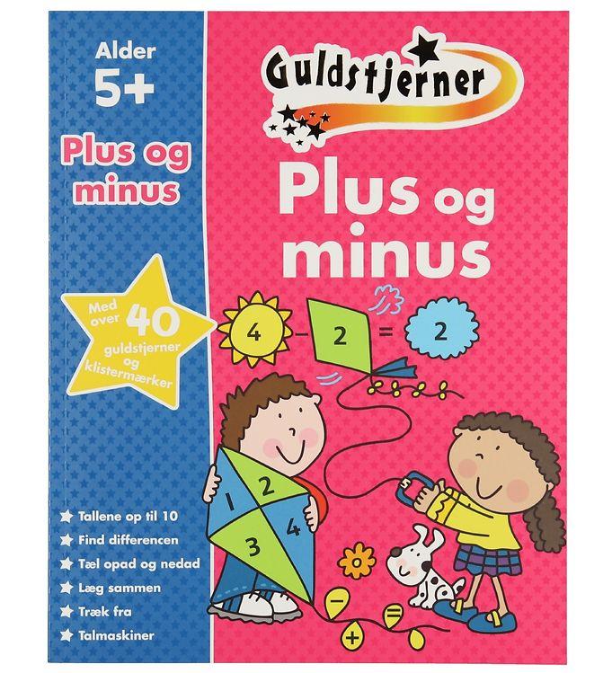 Image of Karrusel Forlag Bog - Guldstjerner - Plus Og Minus (XD666)