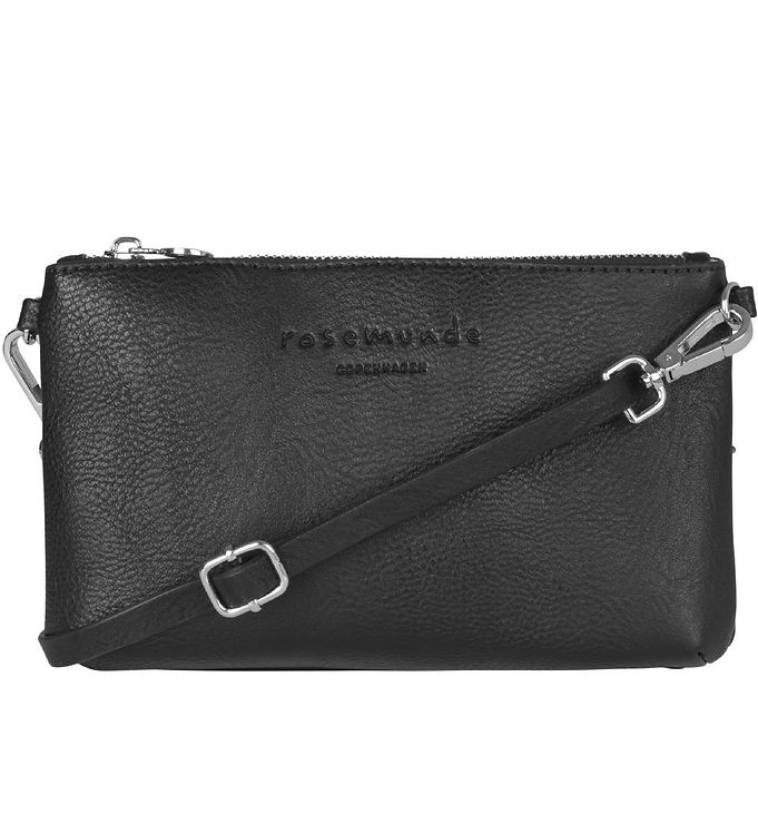 Image of Rosemunde Clutch - Black Silver (XE119)