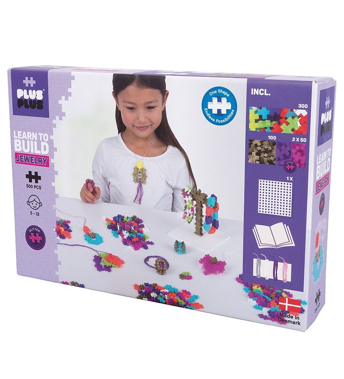 Image of Plus-Plus Learn To Build - Smykker - 500 Stk (XE180)