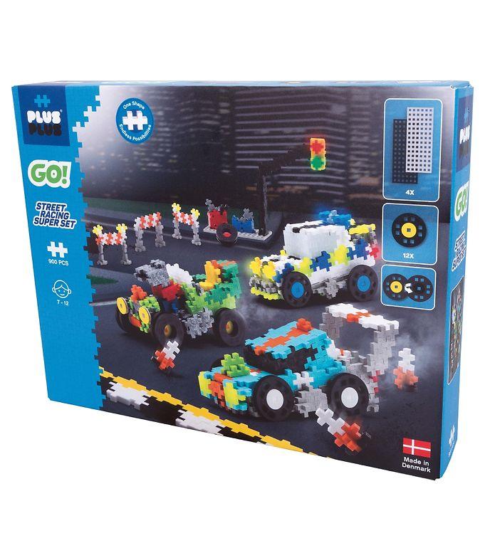 Image of Plus-Plus Go! - Street Racing Super Set - 900 Stk (XE182)