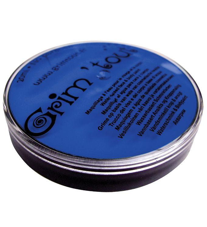 Image of Grim Tout Ansigtsmaling - 20 ml - Klar Blå (XE316)