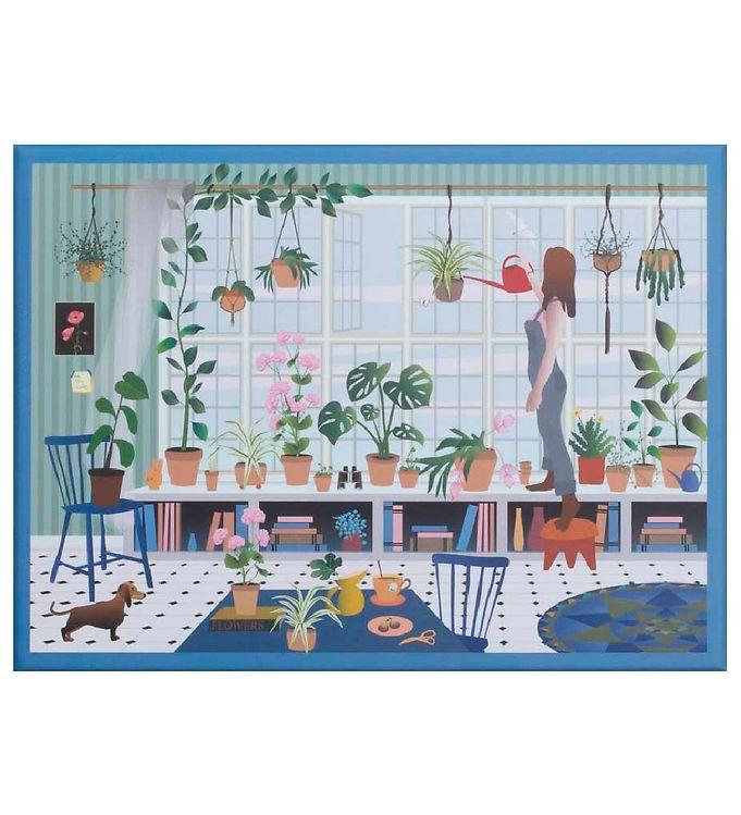 Vissevasse Puslespil - 1000 Brikker - Plant Lover