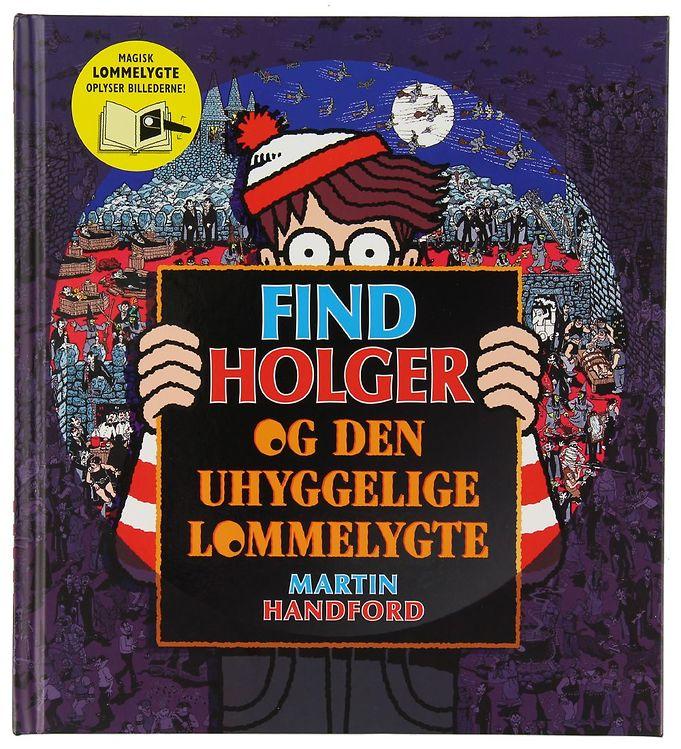 Image of Alvilda Bog - Find Holger & Den Uhyggelige Lommelygte (XE465)