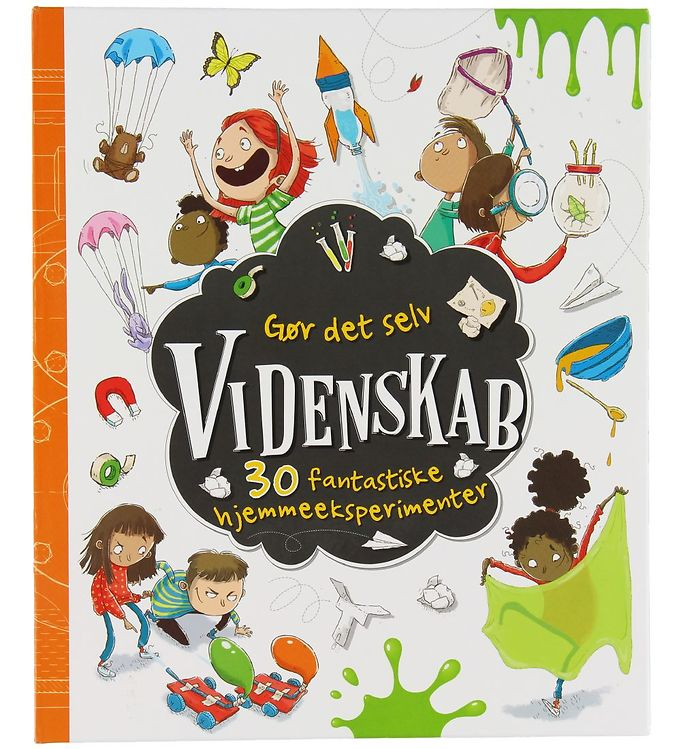 Image of Karrusel Forlag Bog - Gør Det Selv Videnskab (XE786)